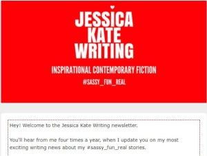 Jessica Kate Writing newsletter