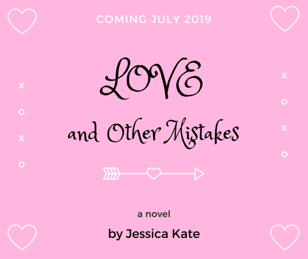 Jessica Kate's debut inspirational romance novel 'Love and Other Mistakes' will release in July 2019 from Thomas Nelson Publishers.