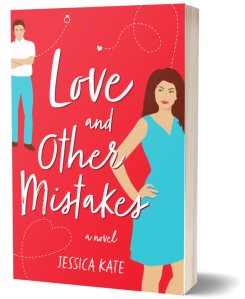 Love and Other Mistakes, a sassy romance by Jessica Kate