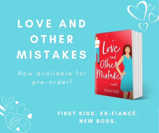 Love and Other Mistakes is available for pre-order