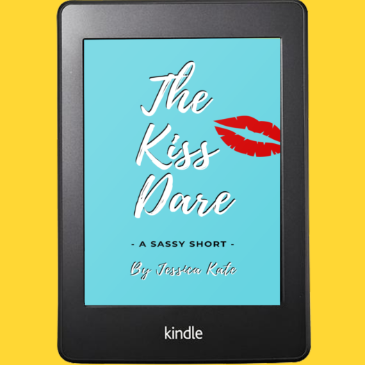 The Kiss Dare, a short story by Jessica Kate and endorsed by Rachel Hauck