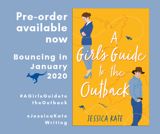 Jessica Kate's new novel A Girl's Guide to the Outback